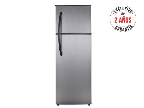 Heladera con freezer no frost 420 L Inoxidable Patrick