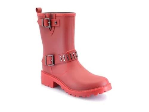 Botas de lluvia de mujer Ricky Sarkany Rojo