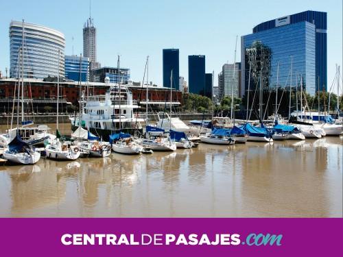 Pasaje en micro a Buenos Aires desde Rosario con flexibilidad