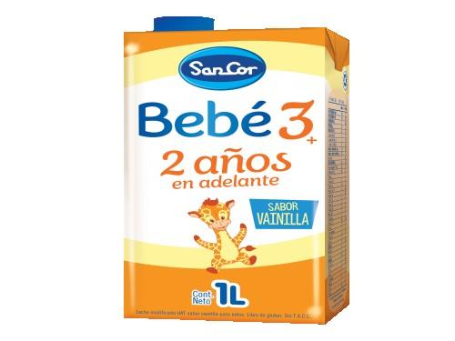Leche Infantil Etapa 3 Líquida Vainilla 1L x 24 unidades SanCor Bebé