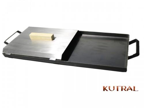 Combo Plancha 2 Hornallas + Tapas Kutral