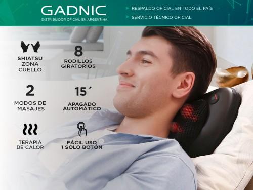 Masajeador Gadnic Wings Portátil Terapia de Calor 8 Nodos 2 Modos