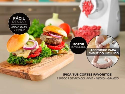 Picadora de Carne Cuk By Gadnic P90 Eléctrica 2000w 80kg/h