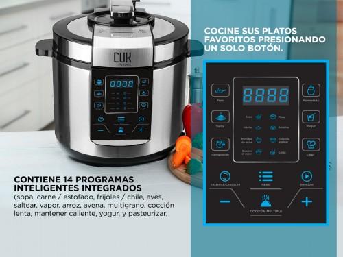 Olla Electrica A Presión Gadnic HD100 Plus Cocción Instantanea Arrocer