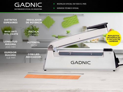 Selladora de Bolsas GADNIC S200 20cm