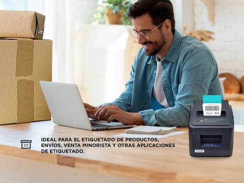 Impresora Térmica 80 mm Comandera X-Printer XP-V320N