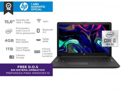 """Notebook HP 250 G7 Intel Core I3 10ma 4gb 1tb 15,6"""" HD"""