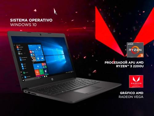 """Notebook HP R3-2200U AMD Ryzen 3 4Gb 1tb 14"""" HD Windows 10"""