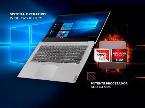 "Notebook Lenovo Ideapad S145 AMD A4-9125 4gb 500gb 14"" HD Windows 10"