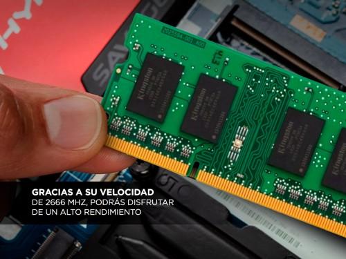 Memoria para Notebook Sodimm 8gb DDR4 2666 Mhz Kingston