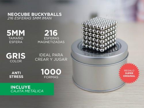 Neocube Buckyballs 216 Esferas 5mm Iman