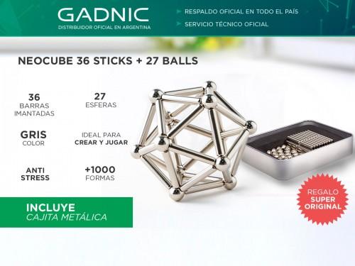 Neocube 36 Barras Magnetico 27 Bolas 8mm