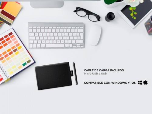 Tableta Gráfica Wacom One Small CTL-472 Digitalizadora