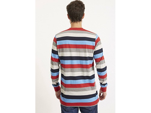 Remera rayada jersey de algodón Taverniti