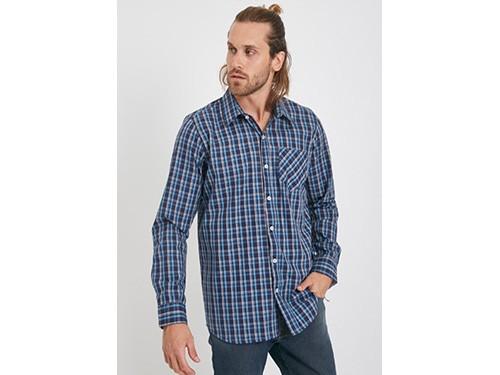 Camisa de algodón a cuadros Taverniti
