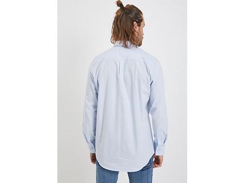 Camisa de algodón elastizado estampada Taverniti