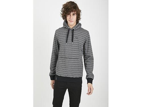 Buzo de frisa algodón rayado con capucha Taverniti