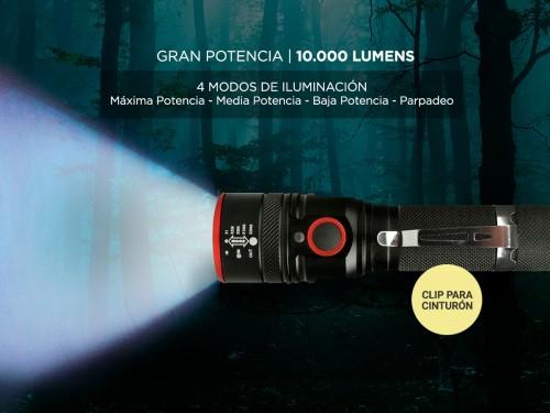 Linterna Gadnic 10000 Lumens L-008