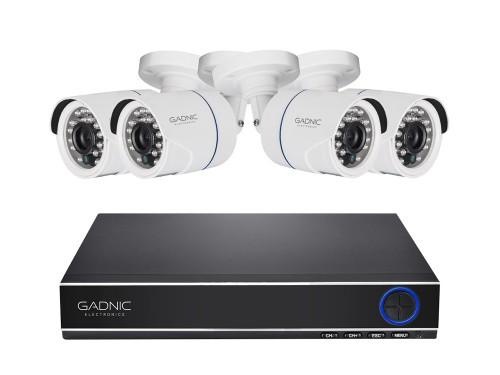 Cámaras de Seguridad + DVR Gadnic x4 Interior / Exterior IP CCTV Visió