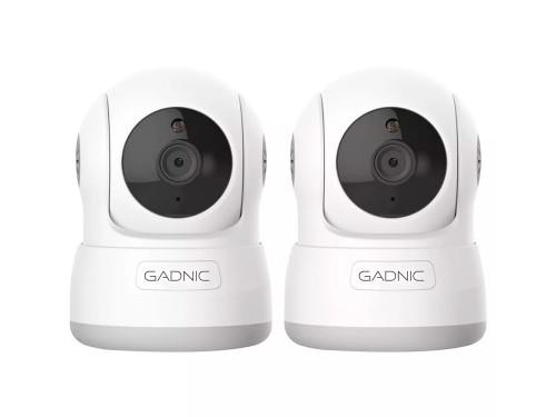 Cámaras de Seguridad Gadnic SX10 x2 IP WiFi Domo Motorizado HD Visión