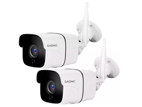 Kit Camaras de Seguridad Gadnic IP Wifi Exterior x2