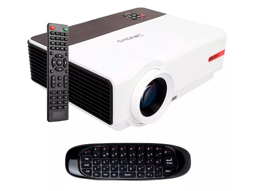 Proyector Gadnic Iron Style Wifi 5500 Lúmenes Android USB HDMI Sinto T
