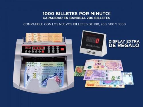 Contadora De Billetes Gadnic MC-01 Profesional 1000 Bill/Min Homologad