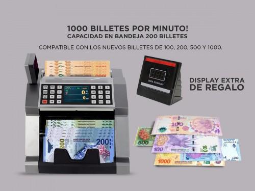 Contadora De Billetes Gadnic Profesional Homologada c/Calculadora Dete