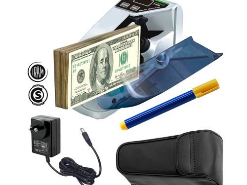 Contadora De Billetes Gadnic P-600 Mini Portátil 600 Bill/Min Función