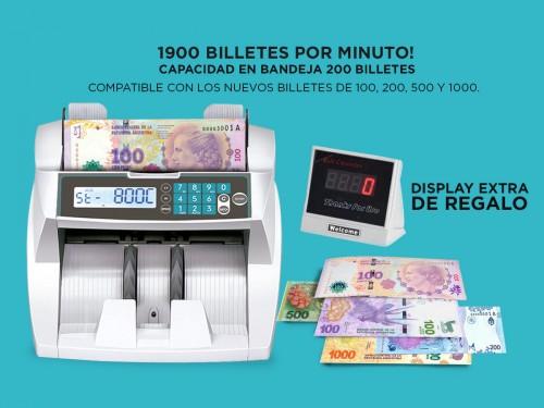 Contadora De Billetes Gadnic Profesional 1900 Bill/Min Homologada Dete