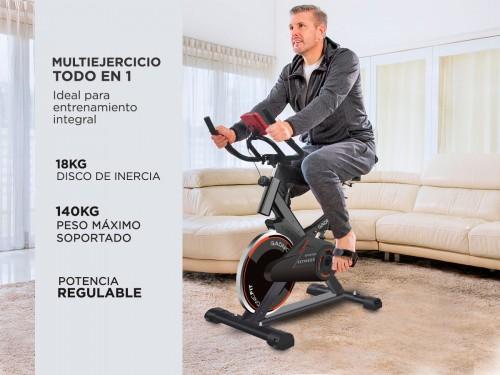 Bicicleta Spinning Gadnic Spin300 Indoor 18KG