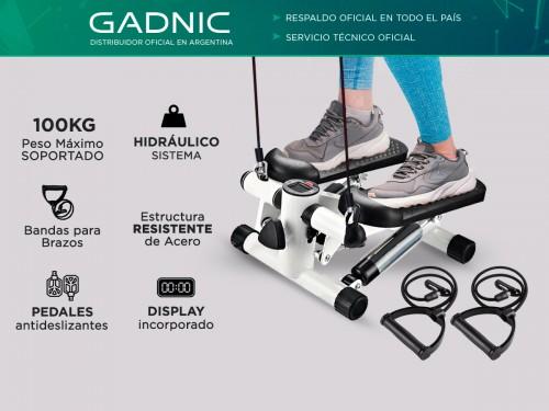 Mini Stepper Gadnic Escalador Con Bandas
