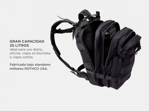 Mochila Táctica Gadnic 25Lts Militar Mochilero Compatible Camelback Co