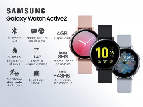"""Smartwatch Samsung Galaxy Watch Active 2 R820 1,4"""" BT5.0 Sumergible 50"""