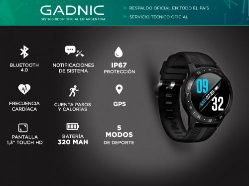 Smartwatch Gadnic R10 GPS Watch 1.3 Bluetooth Waterproof Ip67