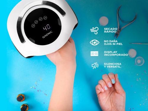 Cabina Para Uñas Gadnic BQ5 Pro UV Led 120w Uso Profesional