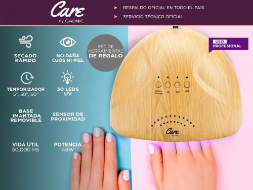 Cabina Para Uñas Gadnic Bamboo UV 48w Uso Profesional