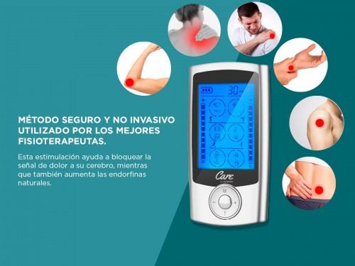 Electroestimulador Muscular Portátil Gadnic 9910 20 Niveles 24 Program