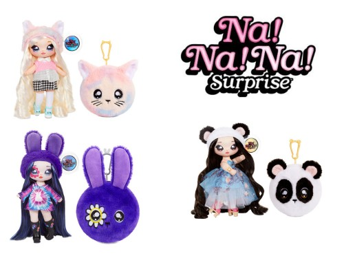 Muñeca coleccionable Na! Na! Na! Wave Serie 4 Wabro Original