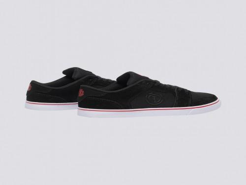 Zapatillas Y Heatley Black Red Niño