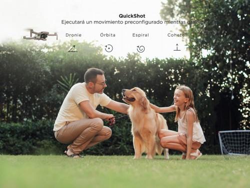 Drone DJI Mavic Mini Fly More Combo Cámara 2.7K Vuelos Automáticos