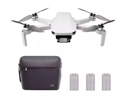 Drone DJI Mavic Mini 2 Fly More Combo 3 Baterías Cámara 4K 30fps 10km