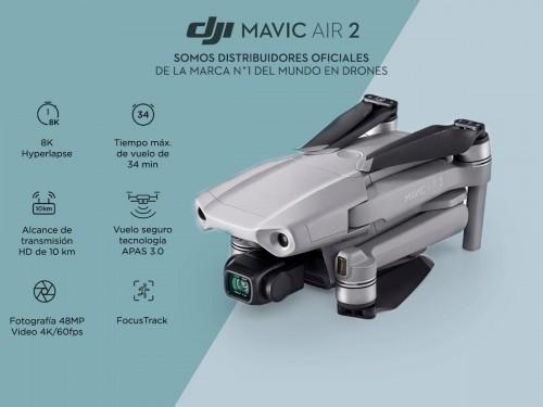 Drone DJI Mavic Air 2 c/ Cámara 4K 48Mpx HDR Vuelo Seguro APAS 3.0