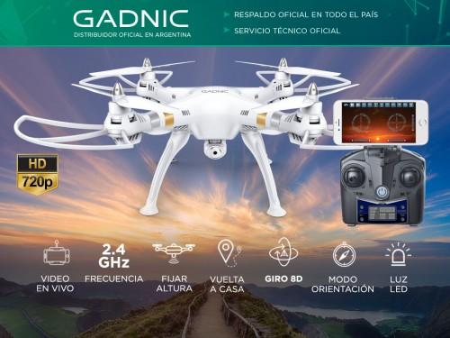 Drone Gadnic Buzzard T70 c/ Cámara HD Giros 8D Vuelta a Casa Fijar Alt