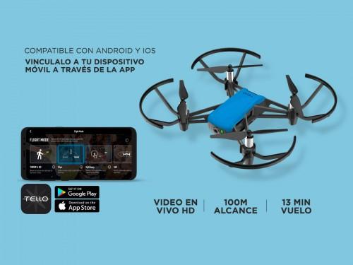 Drone DJI Tello Boost Combo Cámara HD Video y Foto en Vivo + Accesorio