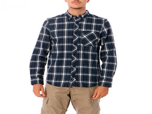 Camisa Lumber Classic LS Negro Manga Larga