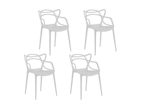 Set de Sillas de Diseño Allegra Súper Resistente