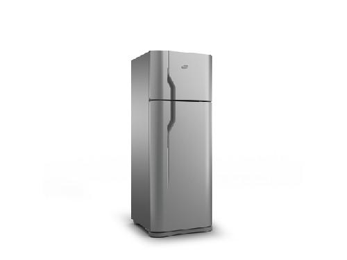 Heladera con freezer HGF367AFP Plata 330 lts GAFA