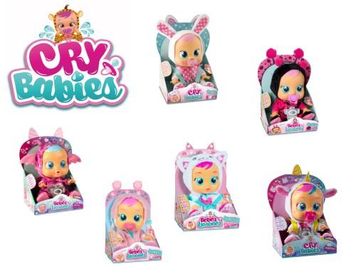 Muñeca Cry Babies llora con lágrimas de verdad original Wabro