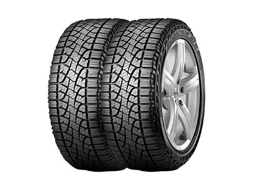 Combo X2 Neumaticos Pirelli 235/75r15 S-atr 110s Cuotas